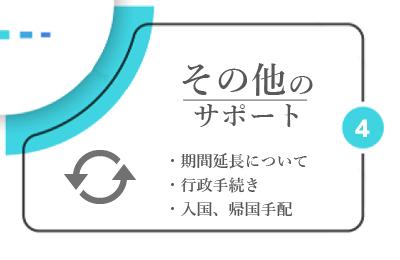 外国人実習生のフォロ-アップ 契約の更新
